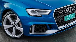 audi headlights poster audi rs3 saloon 2017 review by car magazine