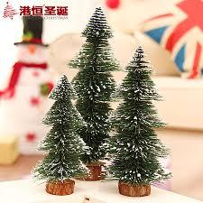 Mini White Christmas Tree Decorations by Online Get Cheap Mini White Christmas Trees Aliexpress Com