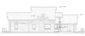 sisters new construction green house plan 3760sl view reverse floor plan image