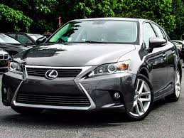 lexus sedan 2014 2014 used lexus ct 200h 5dr sedan hybrid at alm gwinnett serving