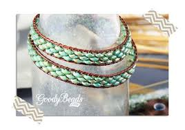 beaded wrap bracelet tutorials images How to make leather wrap bracelets with illustrated tutorial jpg