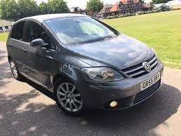 vw golf plus 2 0 gt diesel automatic 2006 55 heated leathers long