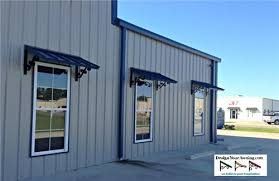 Metal Awnings For Home Windows Commercial Building Awnings Projects Gallery Of Awnings