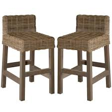 Wicker Kitchen Furniture Sofa Excellent Remarkable Wicker Bar Stools With Backs Good