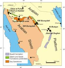 map of tabuk evaluation of chemical and petrographic characteristics of silica