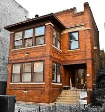 Prairie Style Architecture Remarkably Intact C 1915 Chicago Prairie Style Brick Two Tone