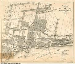 Map Of Montreal Montréal Archives Portal Chapter 6