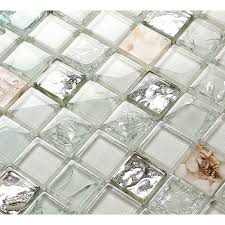 Backsplash Tiles For Kitchen And Bathroom Glossy Glass Mosaics Mm - Cheap mosaic tile backsplash