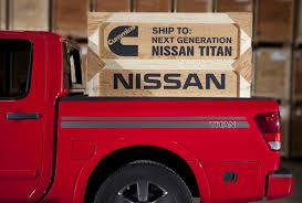 custom nissan cummins next nissan titan to gain turbo diesel v8 from cummins autoevolution