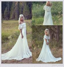 where to buy wedding dresses boho hippie wedding dresses 2016 summer a line the shoulder