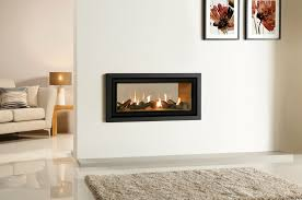 Fireplace Insert Electric Surprising Two Sided Electric Fireplace Insert 90 In Modern