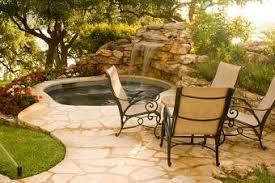 Outdoor Spa Design Ideas Zampco - Backyard spa designs