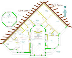 Energy Efficient House Plans by Home Plans For A Passive Solar Earth Sheltered Home At Deep