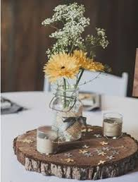 Country Centerpiece Ideas by Barn Wedding In Georgia At Vinewood Jars Wedding And Flower