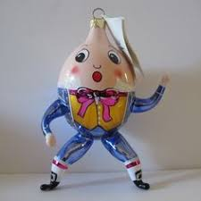 humpty dumpty ornament a gift from a favorite friend humpty