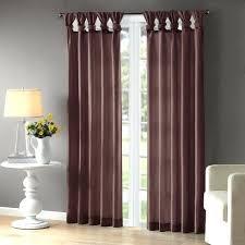 Sheer Curtains Tab Top Semi Sheer Curtains Teawing Co