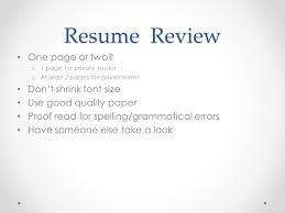 Good Font Size For Resume Student U0026 Recent Grad Resume Writing U0026 Interview Tips Ppt Download