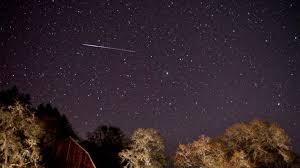 imagenes meteoritos reales video lluvia de meteoros en california rt