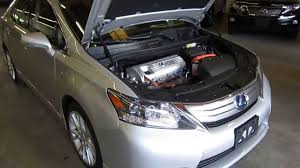 lexus hs 250h review 2010 lexus hs250h silver stock 017968 engine youtube