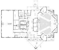Simple Small Church Floor Plans Church Building Floor Plans by Ground Floor Plan Floor Plans Ground Floor