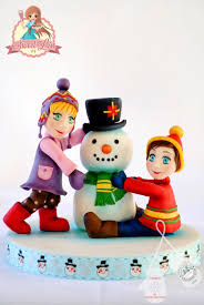 Christmas Cake Decorations Figures by 104 Best Sweetlin Cake And Tutorial Images On Pinterest Cake