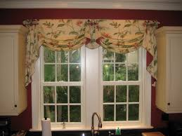 Creative Small Window Treatment Ideas Bedroom Hall Window Valances With White Ceramic Floor And Small Glass