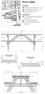 Folding Picnic Table Plans Folding Picnic Table Plans Pdf Plans Diy Free Puzzle Box