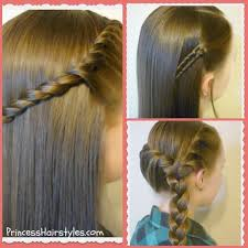 easy hairstyles with box fishtales 3 quick and easy hairstyles for school video tutorials braids