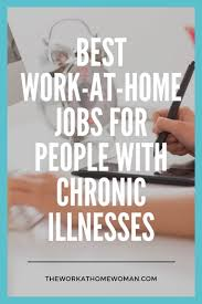 Design Works At Home Work At Home Jobs For People With Chronic Illnesses