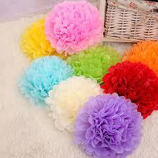 where can i buy tissue paper 10pcs 4inch 10cm handmade tissue paper pom poms paper flower
