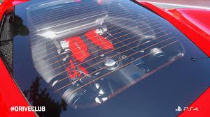 ferrari 488 engine driveclub next free dlc car the ferrari 488 gtb out today gets