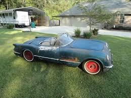corvettes for sale on ebay corvettes on ebay 1954 pennant blue corvette barn find corvette