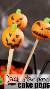 halloween cakepops jack o u0027lantern cake pops vegan and 1 000 giveaway nerdy mamma