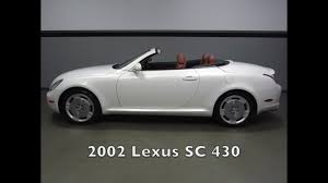lexus richmond service 2002 lexus sc 430 in richmond va 17p250 youtube