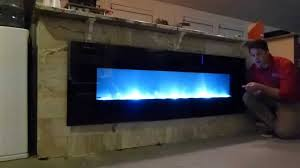 home decor vertical electric fireplace frosted glass bathroom