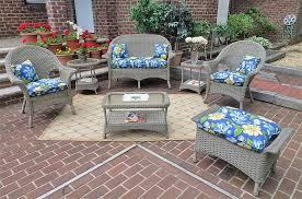 Patio Furniture Warehouse by Wicker Driftwood High Back Veranda Outdoor Wicker Patio Furniture