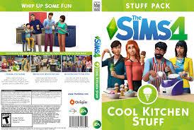 the sims 4 cool kitchen custom box art sims community