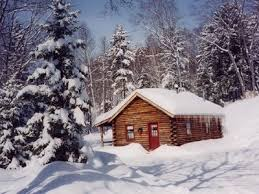 winter cabin cozy log cabins located in the green mountains homeaway