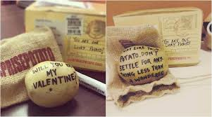 what is a valentines day gift for my boyfriend this s day gift your crush a personalised potato
