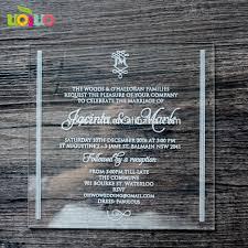 Showroom Invitation Card Acrylic Invitation Card Acrylic Invitation Card Suppliers And