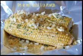 ღ miam épis de maïs grillé à la plancha miam la