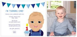 first birthday party invitations boy iidaemilia com