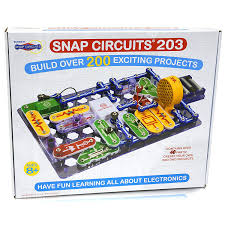 amazon com snap circuits 203 electronics discovery kit toys u0026 games