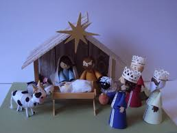 nativity scene presépio by natilde http natiquill blogspot com