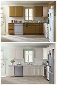Kitchen Cabinet Door Refinishing Diy Refinish Kitchen Cabinets Attractive How To Oak Regarding