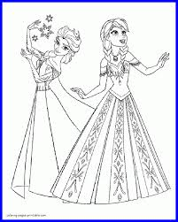 frozen coloring pages elsa coronation best elsa frozen coloring pages leversetdujour info pic of from