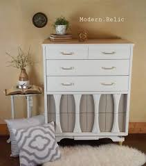 Modern Dressers Furniture by 56 Best Painted Mid Century Modern Dressers Images On Pinterest