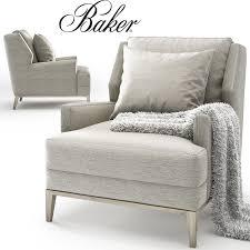 3d baker anchor lounge chair barbara barry 6738c