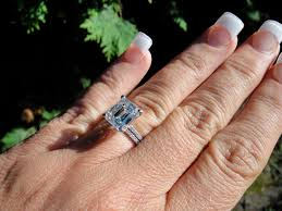 engagement ring prices engagement rings emerald diamond ring 3 23 e si1center setting