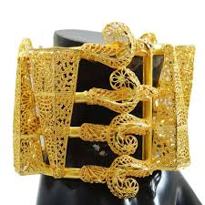 cuff bracelet gold plated images Buy ethnic india women 18k gold plated cuff bracelet jewellery jpg